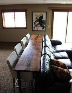 LOVE this idea! A couch bar! Perfect for man cave or theater type living room our even the holidays! http://iowagirleats.com/2013/09/13/friday-favorites-76/?utm_content=bufferf3600&utm_medium=social&utm_source=pinterest.com&utm_campaign=buffer