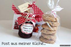 Weihnachtliche Beeren-Zimt Konfitüre und Lebkuchen-Cookies