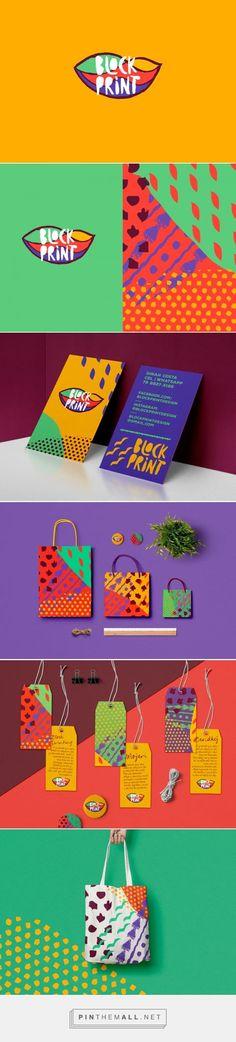Block Print Womans Accessory Branding by Will Nunes | Fivestar Branding Agency – Design and Branding Agency & Inspiration Gallery