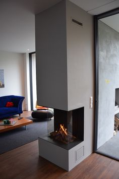 House Extensions, Fireplace Design, First Home, Foyer, Family Room, New Homes, Dining Room, Lounge, Contemporary