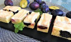Modré kráľovstvo: 10 super koláčov so šťavnatými slivkami Bourbon, Sushi, Ethnic Recipes, Food, Basket, Bourbon Whiskey, Essen, Meals, Yemek