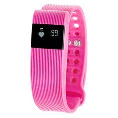 RBX Active Bluetooth Wireless TR3 Activity Tracker - Pink
