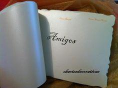 """Interior livro de honra """"Diana Marques"""""""