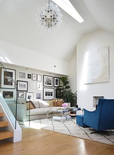 A London Flat Filled with Light
