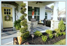 Cottage- Farmhouse -Easter- Front- Porch Decor-From My Front Porch To Yours