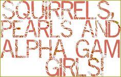 alpha gam girls