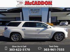 2014 *GMC*  *Acadia* *Denali*  31k miles $36,978 31938 miles 303-622-5170 Transmission: Automatic  #GMC #Acadia #used #cars #McCaddonCadillacBuickGMC #Boulder #CO #tapcars