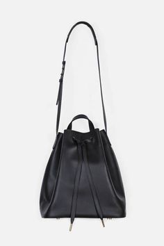 PB 0110 — Ab 16 Shoulder Bag   Black — THE LINE - ladies side bags, trendy bags for ladies, red leather bag *sponsored https://www.pinterest.com/bags_bag/ https://www.pinterest.com/explore/bags/ https://www.pinterest.com/bags_bag/satchel-bag/ https://www.onabags.com/
