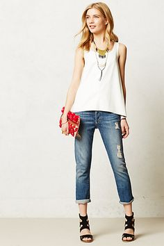 boyfriend jeans #anthrofav #greigdesign