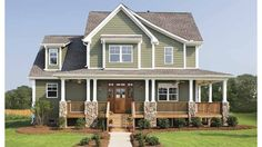 Home Plan HOMEPW07693 - 2490 Square Foot, 4 Bedroom 2 Bathroom Craftsman Home with 2 Garage Bays | Homeplans.com