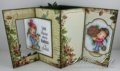 """From My Craft Room: Lever Card 6"""" x 6"""" (15cm x 15cm) Template"""
