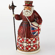 Jim Shore® British Santa.    I have asked my husband to start a tradition of getting me one of these international Santas every year. :)