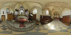 Retable du chœur de l'église d'Orval  -  France © Pascal Moulin