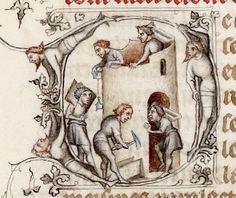 Guyart des Moulins , Bible historiale - Bibliothèque de l'Arsenal