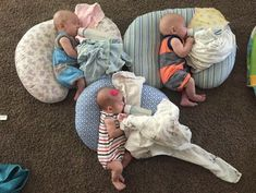 Friday Faves: Triplet Baby Survival Guide - Tate Party of 8 Triplets Nursery, Newborn Triplets, Cute Baby Pictures, Newborn Pictures, Baby Photos, Twin Babies, Reborn Babies, Cute Babies, Twin Mom