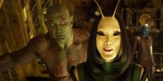 """The Crabby Puppy Is So Cute. He Make Me Wanna Die!"" From her sad moments to her hilarious lines, these are the Mantis quotes all Guardians of the Galaxy fans will remember. Star Lord, Ego The Living Planet, Pom Klementieff, Film X, Films Marvel, Drax The Destroyer, Avengers, Fate Of The Furious, The Infinity Gauntlet"