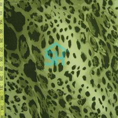 leopard pattern on a Two Way Stretch Polyester/ITY Leopard Print Fabric, Leopard Pattern, Garment District, Animal Print Rug, Number, Green, Style, Swag, Outfits