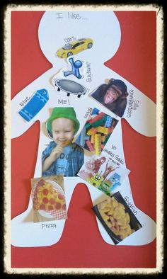 I like collage activity to go along with the book Things I Like by Anthony…