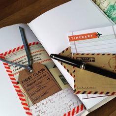 Travel journal with pockets and tuck spots for your memorabilia.  #lukh #the_handmade_spotlight #stationeryaddict #scrapbook #scrapbooking #UKSmallBiz  #EtsyWedding #EtsyUK #EtsyFinds #ShopEtsy #EtsyLove #journal#notebookshabby #bucketlists #traveljournal #travelersnotebook #travelersnb #leatherjournal #leathernotebook #honeymoon #travelwriter #leatherwork #leathercraft #frenchlinkstitch #longstitch #bookbinding #bespokebindery #customjournals #customizedjournals #phileasfogg