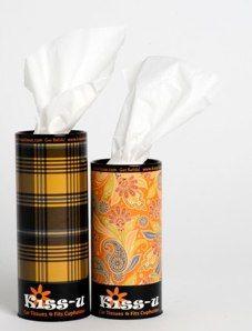 Kiss-u Tissue runs in two sizes