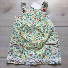 NEW Baby Boden Cherry Dress & Bloomer