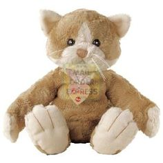 An adorable cuddly soft toy with a super soft fuzzy fur Liz the Cat is ... - Make your cats happy at catsincare.com!