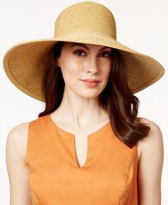 ff834a04813 August Hats Sequin Widebrim Hat Handbags   Accessories - Macy s