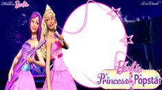 Barbie the Princess and The Popstar frame - barbie-movies Photo