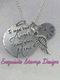 Sympathy Necklace  Sympathy Jewelry  by ExquisiteStampDesign