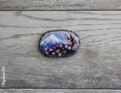 Needle felted brooch. Mother's Day Gifts. Wool felt brooch. Felted jewelry. Gift ideas. Gift for Her