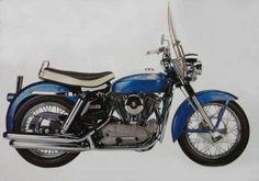 Sportster XL 1957.         XLCH Sportster 1958.          XL 1959.          XLCH Sportster 1964 .         Sportster XLCHcom acessór...