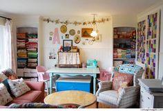 Refocusing: My Sewing Studio | Flickr - Photo Sharing!