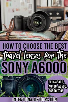 This ultimate guide to the best travel lenses for Sony a6000 walks you through everything you need to know about choosing the best glass! Sony a6000 | Sony a6000 Photography| Travel Photography | Sony Alpha | Sony a6000 Camera| Sony a6000 Lenses | Sony Lens Guide |Sony e mount lenses | Sony Travel Photography | Travel Advice, Travel Guides, Travel Tips, Travel Articles, Travel Hacks, Travel Pictures, Travel Photos, Photography Tips, Travel Photography