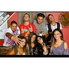 Jersey Shore is a show that is all about drinking and starting drama. This show was super popular when it was still on which shows how much attention our society gave it.