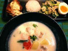 チキン南蛮とサラダも。 - 59件のもぐもぐ - クリームシチュー♡ by hoshidama