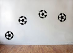 Boys Football Soccer Vinyl Wall Window Stickers by AdnilCreations, £7.99