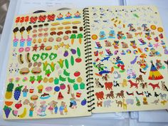 Some of you have been asking me to show how I keep my sticker collection. I have been collecting stickers for as long as I c. 90s Childhood, My Childhood Memories, Vintage Barbie, Vintage Toys, Nostalgia, Old School Toys, Cool Stickers, 90s Kids, Cultura Pop