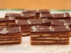 Plnené medové rezy - my favorite! Slovak Recipes, Czech Recipes, Russian Recipes, Ethnic Recipes, Other Recipes, Sweet Recipes, Ham Recipes, Czech Desserts, Sugar And Spice