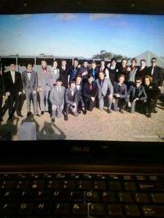 Me and my bros at the pre-formal