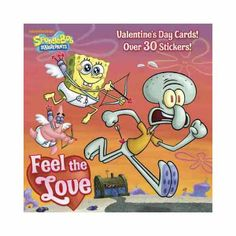 SpongeBob plays matchmaker for Squidward at the big Krusty Krab dance in ways that could lead to a dream date or a Valentine's Day nightmare, in a tale complemented by tear-out valentines and more than 30 stickers.