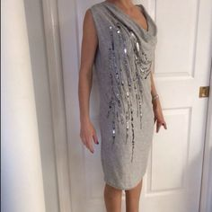 Armani dress Casual knitted dress.like new. Armani Exchange Dresses