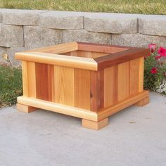 WoodCountry Cedar Planter Box