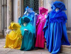 """Magical """"carnavale di Venezia"""" Italia by Batistini Gaston, via Flickr Carnival Of Venice, Carnival Masks, Carnival Costumes, Venice Mask, Carnival Festival, Creative Costumes, Venetian Masks, Masquerade Ball, Costume Design"""