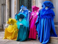 "Magical ""carnavale di Venezia"" Italia by Batistini Gaston, via Flickr"