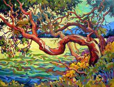 Past Work — Greta Grunow Guzek Landscape Art, Landscape Paintings, Landscapes, Illustration Art, Illustrations, Pintura Country, Canadian Art, Fantastic Art, Art Design