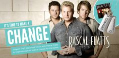 Rascal Flatts Changed Tag...Get yours today!!