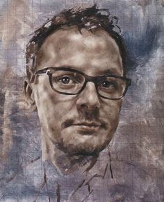 Saw his work at National Portrait Gallery and it is amazing. So lifelike and really clever - self portrait Jonathan Yeo