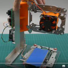 Créer un graveur laser DIY avec Arduino et des contrôleurs de moteur pas-à-pas A4988 - MCHobby - Le Blog Graveuse Laser, Arduino, Iot, Python, Nerf, Programming, Engine, Technology