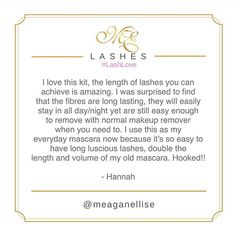 Gorgeous review on our Eyelash Fibre Extension Kit ! ✨ Thanks for posting on our website Hannah! #LashLove #ExtensionKit #Luxe #Review #Hooked #✨