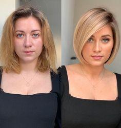 Hair Cuts Oval Face, Oblong Face Shape, Oval Face Shapes, Hair For Face Shape, Head Shapes, Long Thin Hair, Bobs For Thin Hair, Long Hair Cuts, Long Face Short Hair